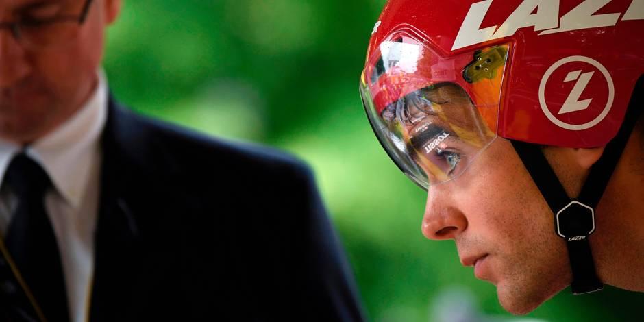 Tour de France: Tony Gallopin devra serrer les dents plusieurs jours (VIDEO)