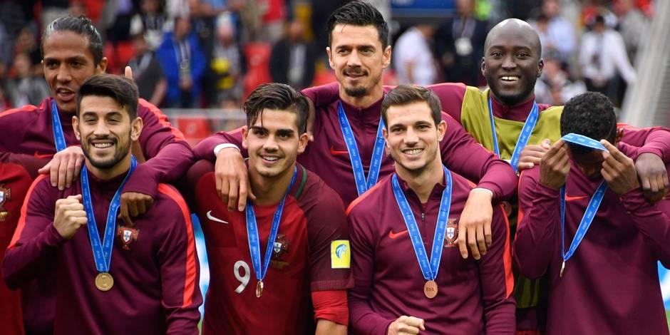 Coupe des Confédérations: le Portugal troisième en battant le Mexique aux prolongations