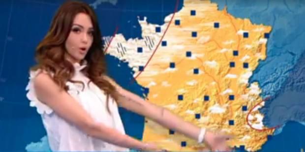 Nabilla, présentatrice météo ! (VIDEO) - La DH