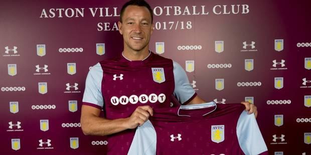 John Terry signe à Aston Villa pour une saison - La DH