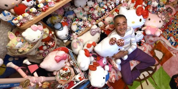 La plus vaste collection Hello Kitty du monde appartient... à un ex-policier japonais (PHOTOS + VIDEO) - La DH