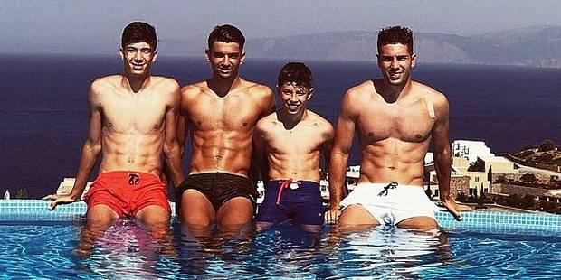 En vacances, les Zidane affolent la toile - La DH