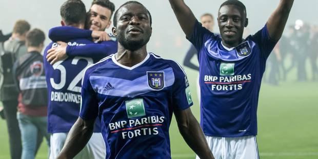 Et si Acheampong restait à Anderlecht - La DH