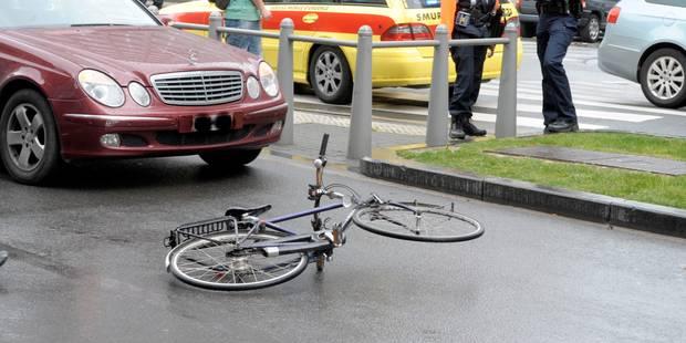 Bruxelles: l'ouverture de portière, première cause des accidents de vélo ! - La DH