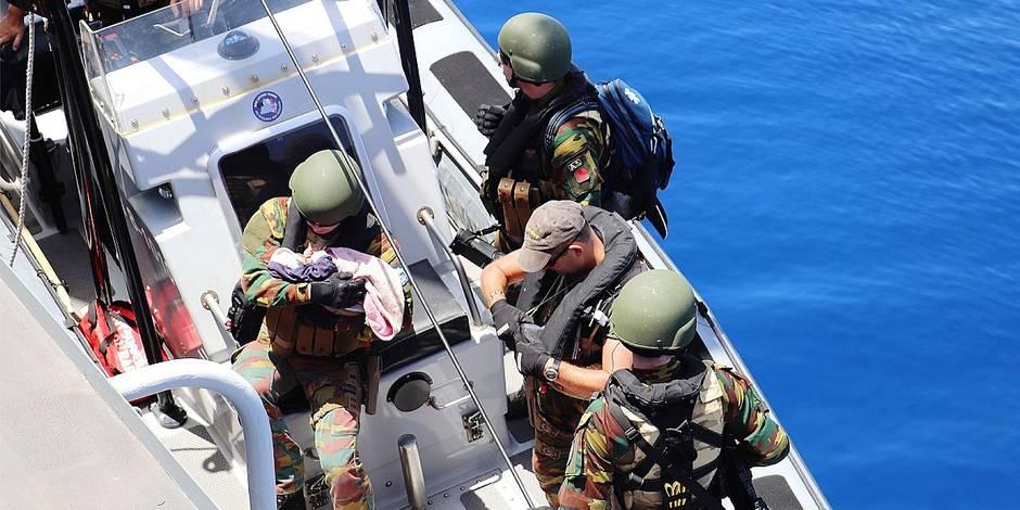 La DH à bord de la frégate Louise-Marie: 118 migrants sauvés et aucune réaction politique - La DH