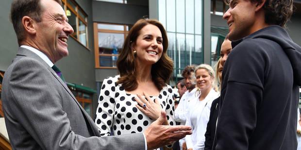 Kate Middleton sous le charme de Dominic Thiem à Wimbledon - La DH