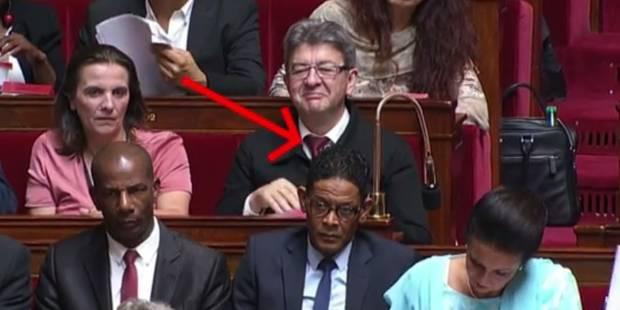 Mélenchon moqué lors de la photo panoramique de l'Assemblée (VIDEO) - La DH