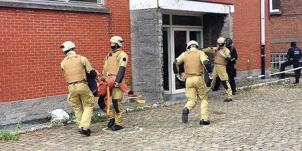Les pompiers bruxellois prêts à intervenir en cas d'attentat (PHOTOS) - La DH