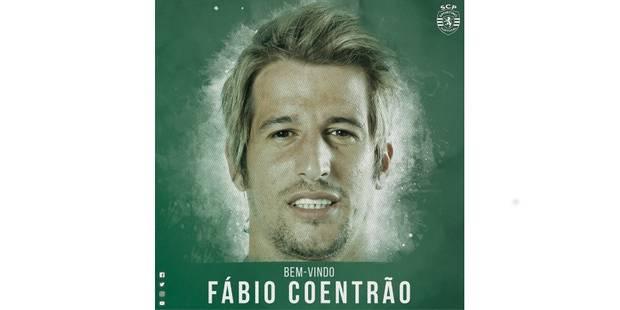 Fabio Coentrão prêté au Sporting Portugal - La DH