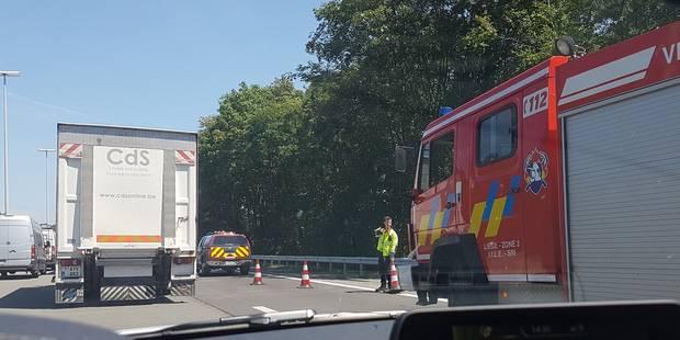 Saint-Georges-sur-Meuse : accident sur l'E42 - La DH