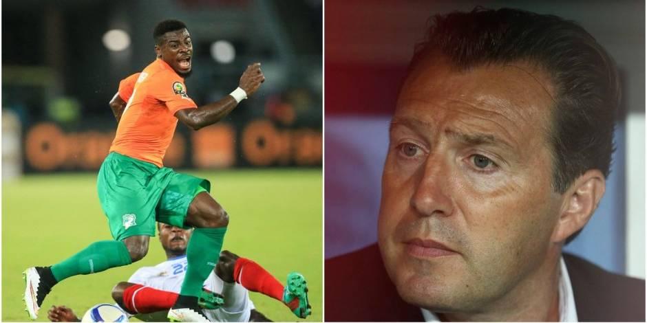 Marc Wilmots déjà dans le dur en Côte d'Ivoire... à cause de Serge Aurier