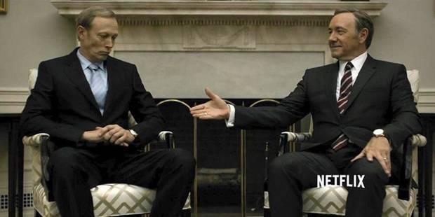 """Quand la série """"House of Cards"""" avait prédit les détails de la rencontre Trump-Poutine - La DH"""