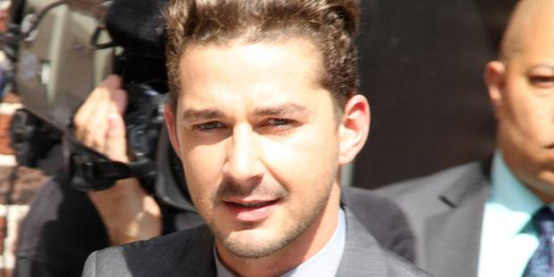 L'acteur américain Shia LaBeouf arrêté pour trouble à l'ordre public - La DH
