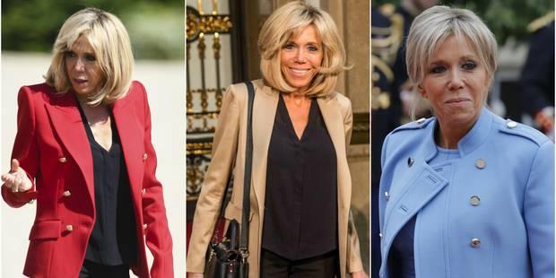 Brigitte Macron, jamais sans sa veste - La DH