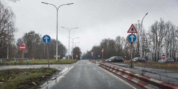 Encore un accident à la sortie d'autoroute de Saint-Ghislain ! - La DH