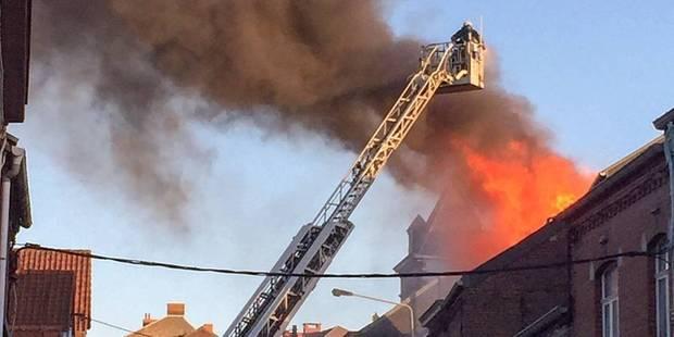 Carnières: un incendie ravage une maison inoccupée - La DH