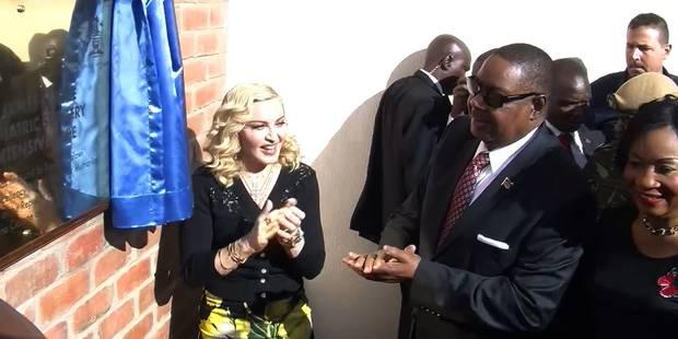 Madonna toujours aussi concernée par le Malawi : elle inaugure un hôpital pédiatrique - La DH