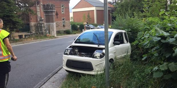 Deux blessés dans un accident à Huy - La DH