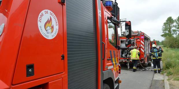 Début d'incendie rapidement maîtrisé à Tournai - La DH