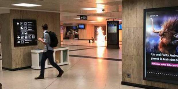 L'Etat Islamique revendique l'attentat manqué de la Gare de Bruxelles-Central en juin - La DH
