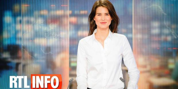"""Julie Denayer présente son premier JT ce vendredi: """"Je n'ai pas envie de décevoir"""" - La DH"""
