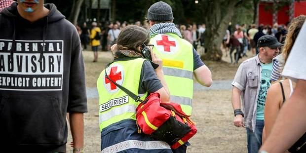 Dour Festival : déjà 1154 interventions de la Croix-Rouge - La DH