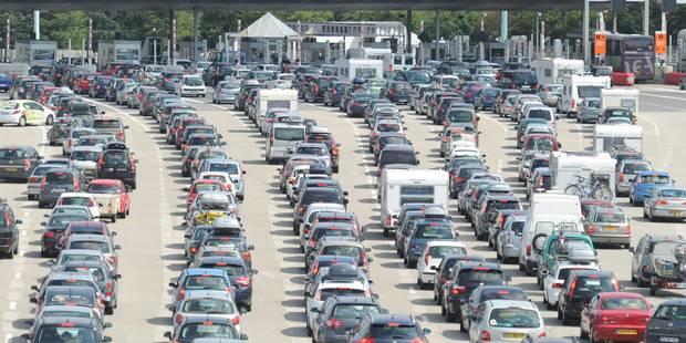 Départs en vacances: trafic saturé dans le sud de la France - La DH