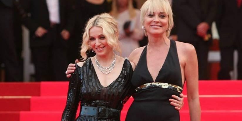 """La belle réponse de Sharon Stone après avoir été qualifiée d'""""actrice médiocre"""" par Madonna"""