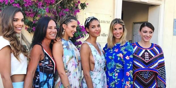 Sylvie Tellier s'est mariée entourée d'une ribambelle de Miss France - La DH