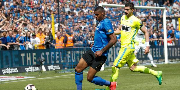 Wesley Moraes (Club de Bruges) suspendu deux journées - La DH