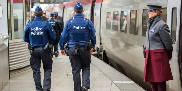 Menace terroriste: Les voyageurs internationaux contrôlés à Bruxelles-Midi - La DH