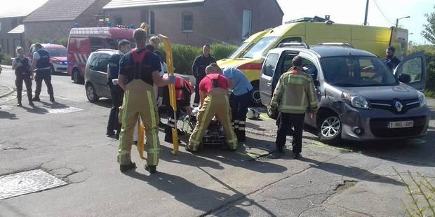 Leernes: trois blessés lors d'une collision - La DH