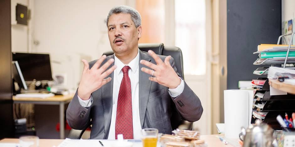 """Salah Echallaoui, le président de l'Exécutif des musulmans, se confie: """"On a lancé le projet d'un islam de Belgique"""" - L..."""