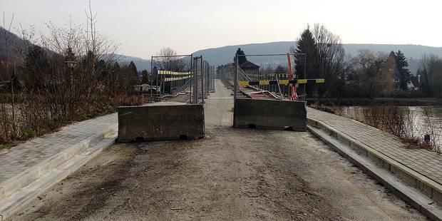 Pont de Godinne : réouverture? mi-2018 ! - La DH
