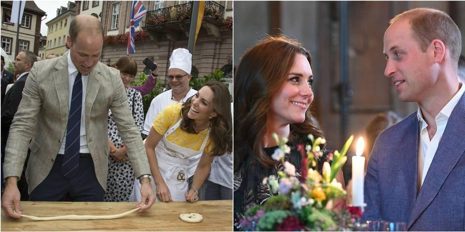 Kate et William: comme une lune de miel en Allemagne