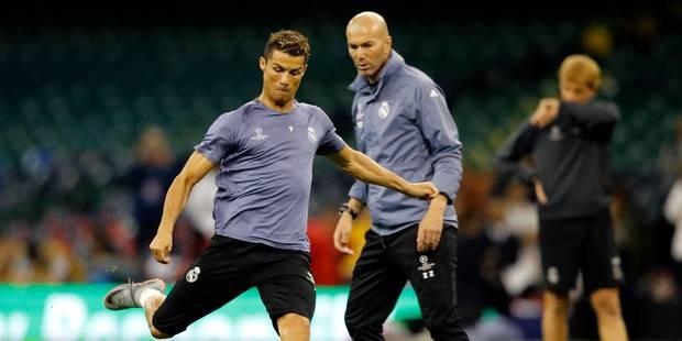 Zinedine Zidane met la situation de Cristiano Ronaldo au clair ! - La DH