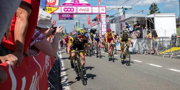 Tour de Wallonie : le sprint final en Thudinie - La DH