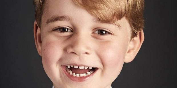 George a 4 ans: Voici son nouveau portrait officiel! - La DH