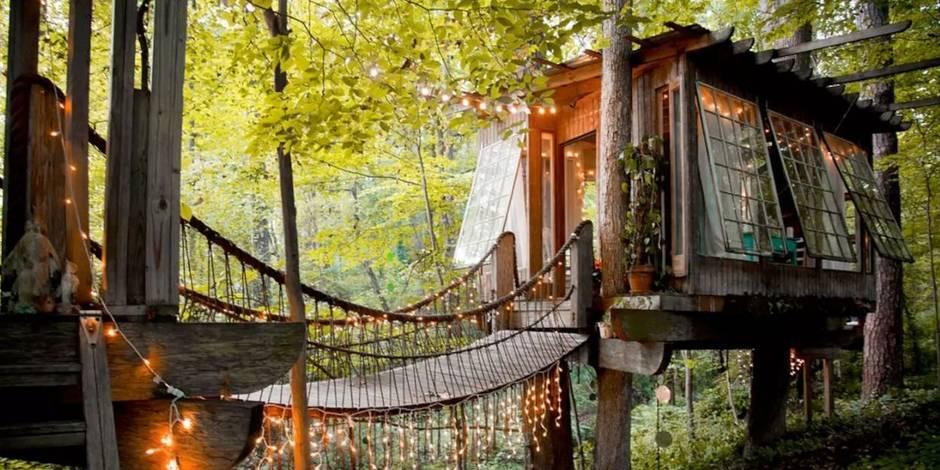 Le logement le plus demandé sur Airbnb est une cabane !