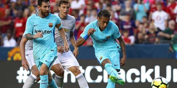 Le Barça, porté par un grand... Neymar, stoppe Manchester United (VIDEO) - La DH