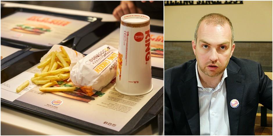"""La DH a rencontré le patron de Burger King: """"Cela se passe mieux que prévu. Liège et Bruxelles devraient être les procha..."""