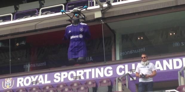 Voici le maillot que porteront les Anderlechtois en Ligue des Champions (VIDEO) - La DH