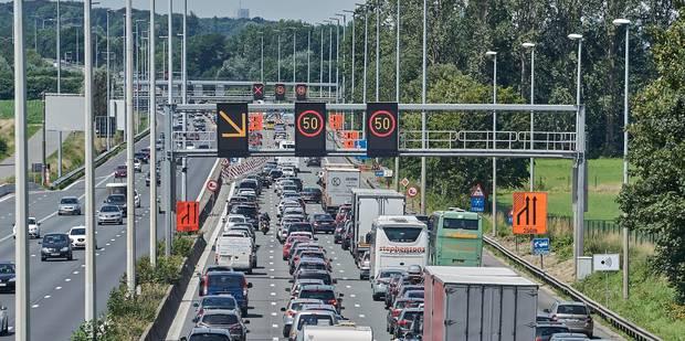 Une bande de circulation en plus entre Louvain et Bruxelles sur l'E40 dès le 1er aout - La DH