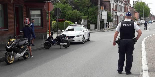 Quiévrain: opération conjointe entre les polices belge et française - La DH