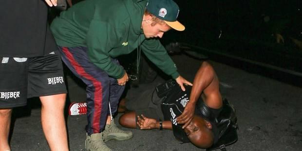 Justin Bieber heurte un photographe avec sa voiture - La DH