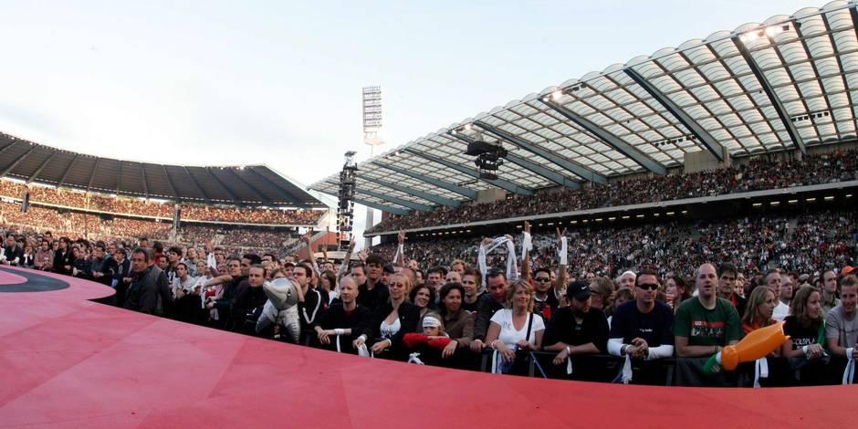 U2 au Heysel en 2005