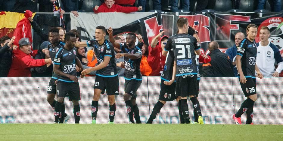 Mouscron crée la surprise et s'impose à Ostende (0-1)