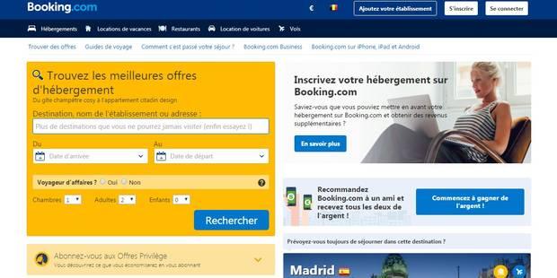 Booking.com paie peu d'impôts en Belgique en dépit de son succès dans le pays - La DH