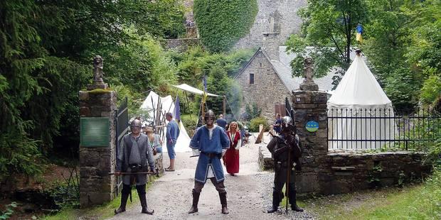 Beau succès pour la fête médiévale - La DH