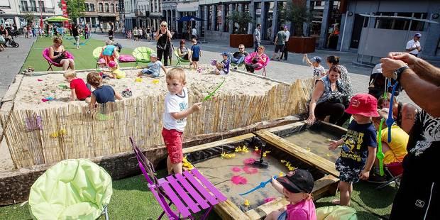 Mons : un jardin en ville cet été - La DH